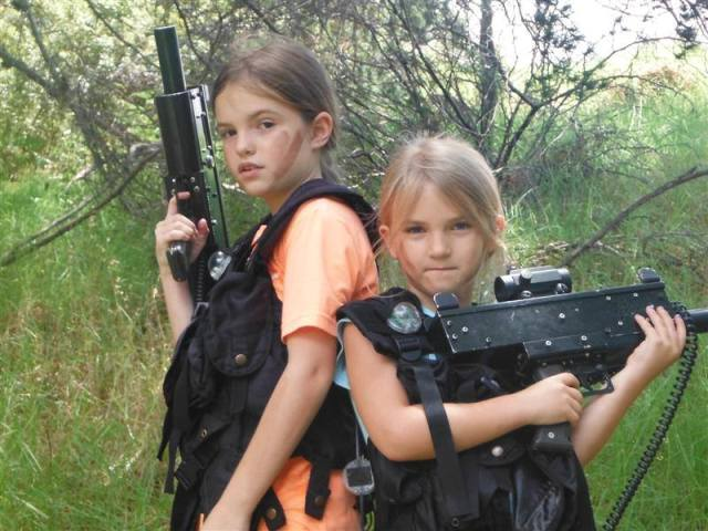 Laser Tag Party in Mobile Alabama